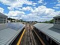 Orient Heights station from footbridge, July 2015.JPG