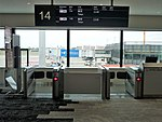 Osaka International Airport Boarding gate No.14.jpg