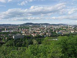 View from Ekeberg toward Grefsen