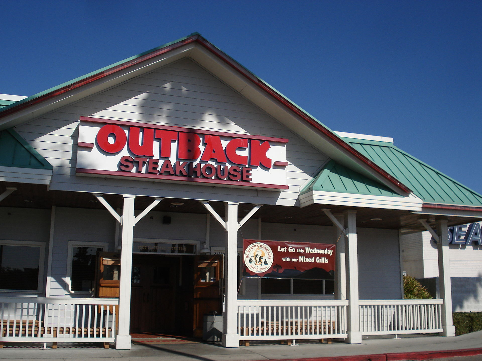 Outback Steak House Boynton Beach Free Meal Veterans