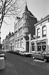 overzicht voorgevel met torentje en buurpanden, herenhuis - tilburg - 20344273 - rce