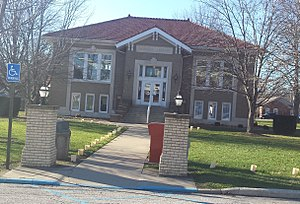 Owensville, Indiana - Image: Owensville Carnegie Library