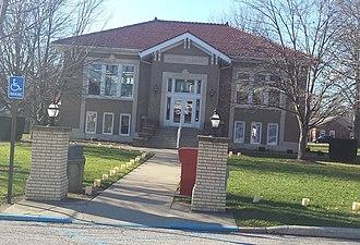 Owensville, Indiana - Image: Owensville Carnegie Library