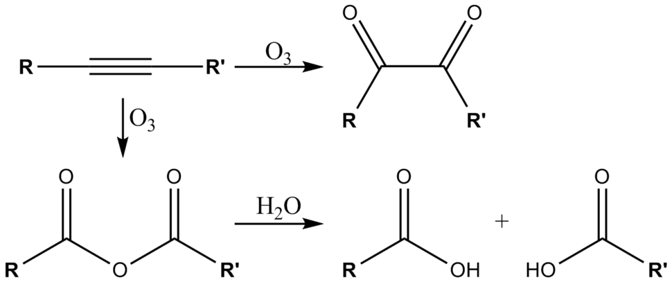 Ozonolysis-alkyne
