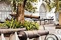 Pátio dos canhões com natureza viva, em Museu Histórico Nacional, 2017. Por AlessandraSantAnna.jpg