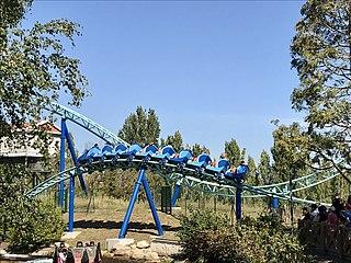 Pégase Express Steel roller coaster at Parc Astérix
