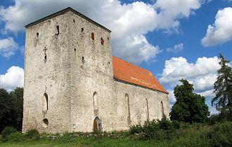Pöide Parish - Pöide church