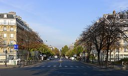 Boulevard Voltaire od Place de la Nation