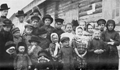 P412 Children of the Russian labourers on the Amur railway.jpg