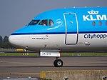 PH-KZK KLM Cityhopper Fokker F70 - cn 11581 taxiing, 25august2013 pic-2.JPG