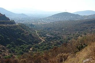 Pachuca Municipality - Panorama of Pachuca city and municipality.