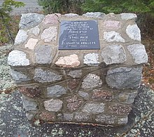 Page Family memorial cairn