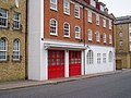 Pageants Wharf Fire Station. Rotherhithe Street, London, SE16 - geograph.org.uk - 1558331.jpg
