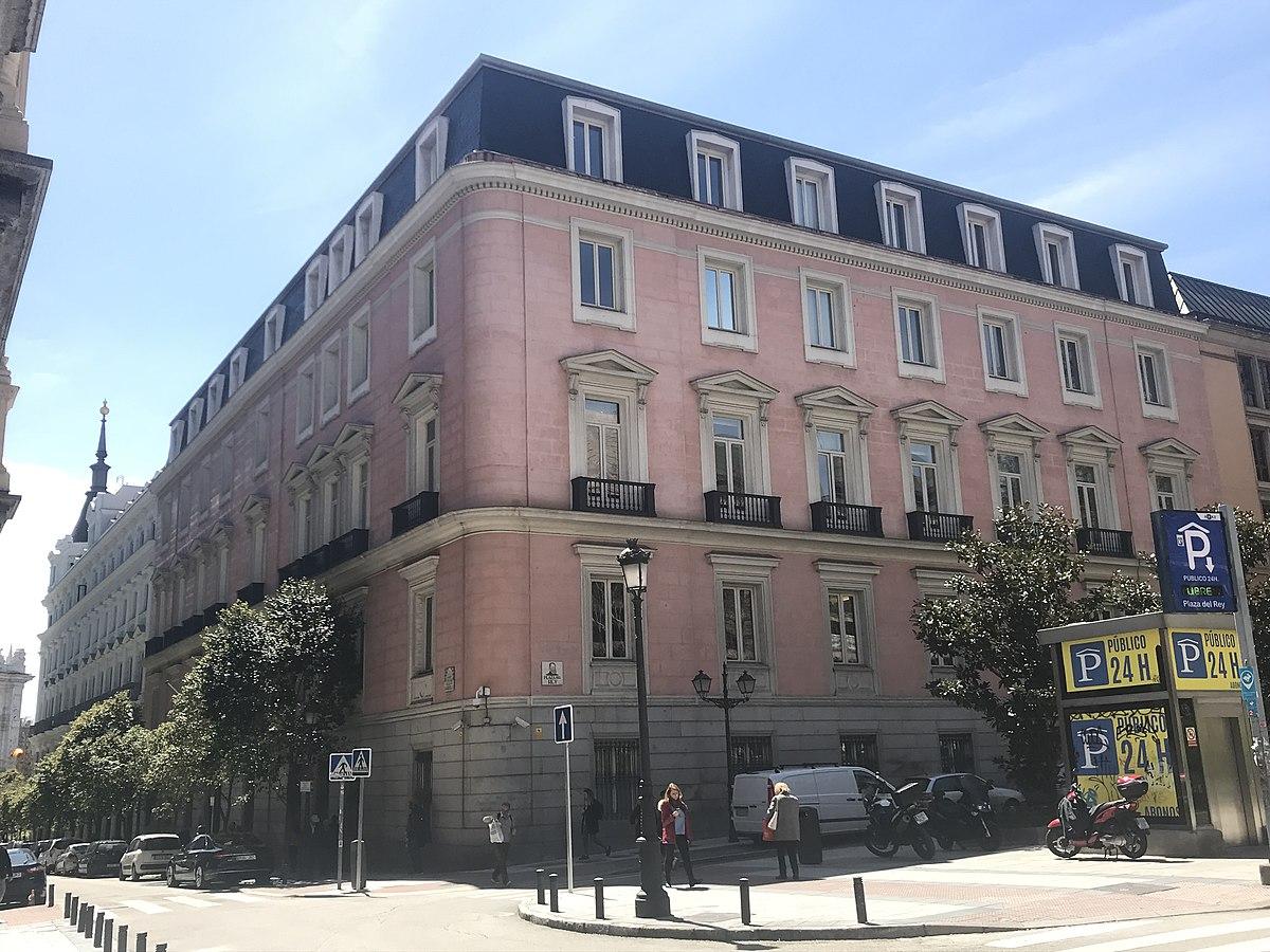 File Palacio De Fontagud Plaza Del Rey Madrid Triplecaña 2018 04 16 Jpg Wikimedia Commons