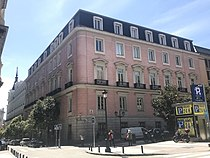 Palacio de Fontagud, plaza del Rey (Madrid), Triplecaña, 2018-04-16.jpg