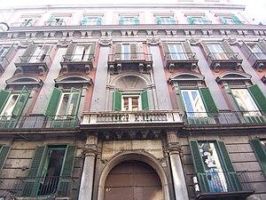 Italian Institute of Human Sciences (SUM) - Palazzo Cavalcanti, seat of the institute in Naples
