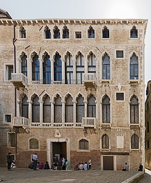Mariano Fortuny (designer) - View of the Palazzo Fortuny in Venice where Mariano Fortuny lived and worked
