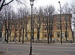Palazzo Giordani (Parma) - facciata principale.JPG