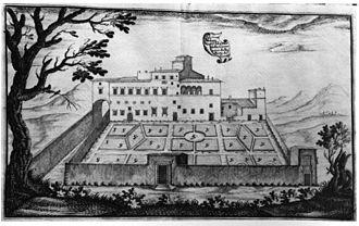 Pinacoteca Comunale, Città di Castello - drawing of Alessandro Nave, 1699