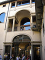 Palazzo orlandini, cortile 01.JPG