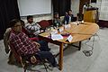 Panel Discussion - Collaboration with Academic Institutes for the Growth of Wikimedia Projects in Indian Languages - Bengali Wikipedia 10th Anniversary Celebration - Jadavpur University - Kolkata 2015-01-09 2893.JPG