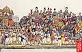 Panorama of a durbar procession of Akbar II.jpg