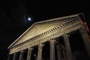 English: Photo of Pantheon, Rome.