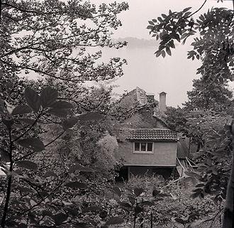 Ben Nicholson - Ben Nicholson's artist studio