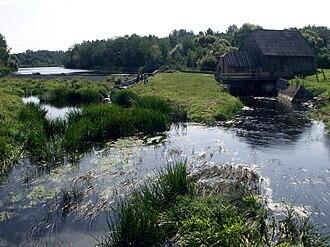 Akmenė District Municipality - Hydroelectric power plant in Rudikiai