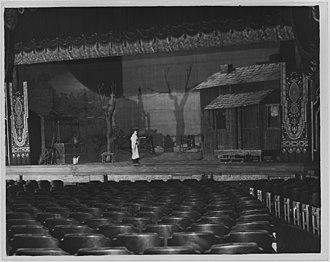 Tobacco Road (play) - Image: Paramount Theater. Omaha NARA 283721