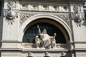 Comptoir national d'escompte de Paris - Facade of the bank