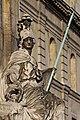 Paris - Les Invalides - Façade nord - Statue de Minerve - PA00088714 - 006.jpg