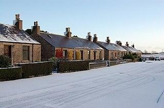 Belhelvie Small village and civil parish in Aberdeenshire in Scotland