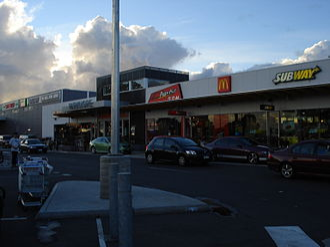 Keysborough, Victoria - Parkmore Shopping Centre in Keysborough