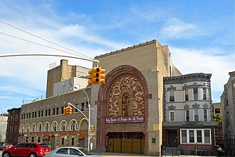 Brownsville, Brooklyn - Parkway Theatre, now a church