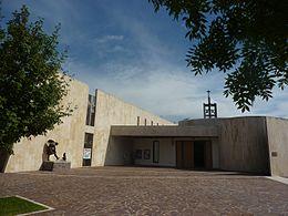 Chiesa di san giuseppe artigiano forl wikipedia for Piani di artigiano contemporanei