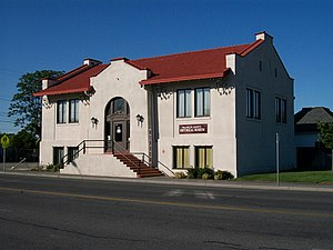National Register of Historic Places listings in Franklin County, Washington - Image: Pasco Carnegie Library