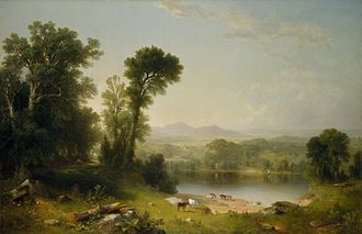 New-York Historical Society - Asher B. Durand, Pastoral Landscape, 1861