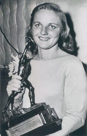 Pat McCormick (diver) - McCormick in 1957