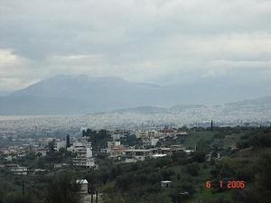 Η Πάτρα όπως φαίνεται απο την Οβρυά