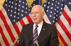 Patrick Leahy - Patrick Leahy speaking at a press conference in Washington, D.C.