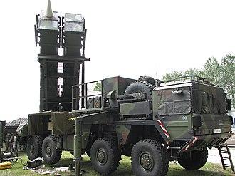 MIM-104 Patriot - Image: Patriot System 2