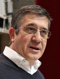 Patxi López Spanish politician
