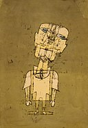 Paul Klee - Gespenst eines Genies (Ghost of a Genius) - Google Art Project.jpg