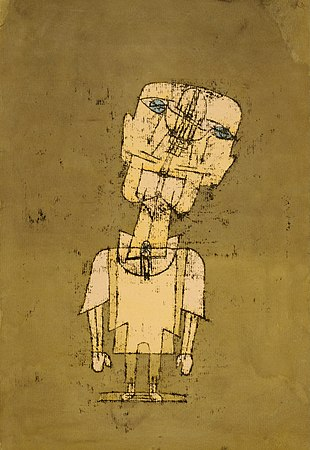 Paul Klee - Gespenst eines Genies (Ghost of a Genius) - Google Art Project.jpg
