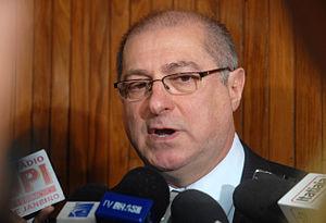 Português: Paulo Bernardo, ministro do Planeja...