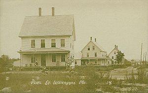Waterboro, Maine - Pearl Street in 1912