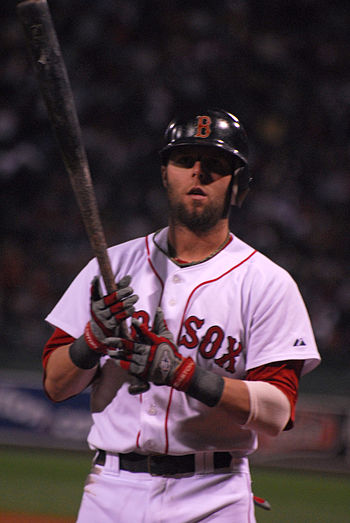 Pedroia on deck