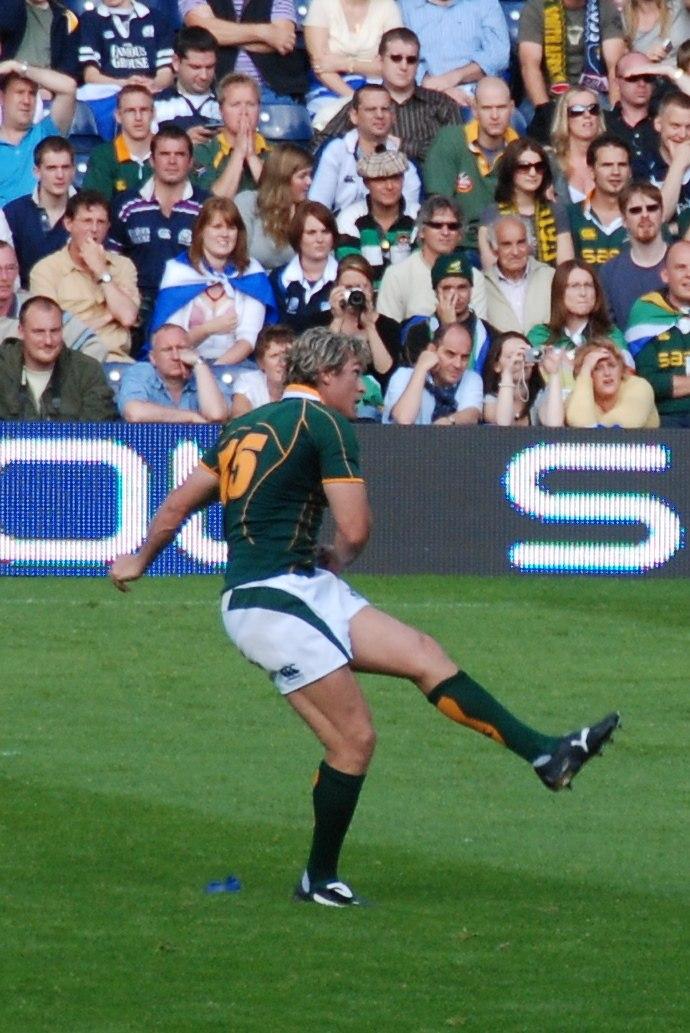Percy Montgomery kick