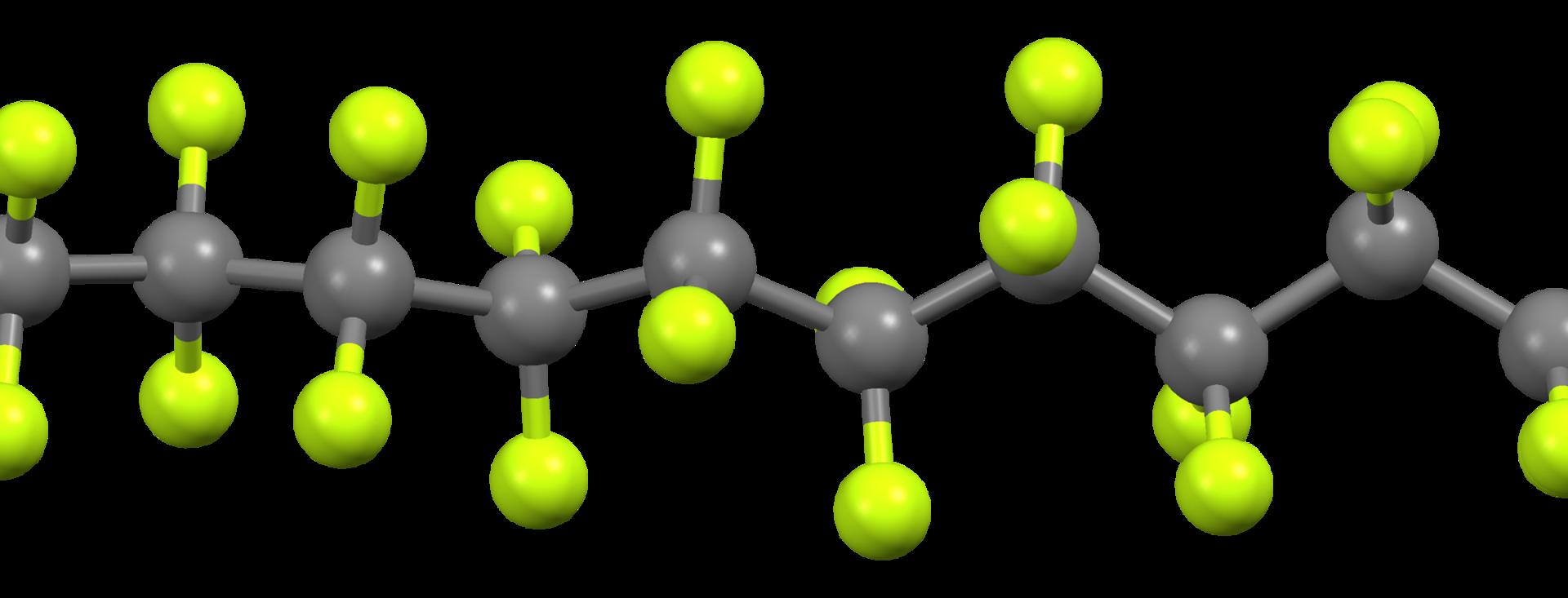 ptfe molecule